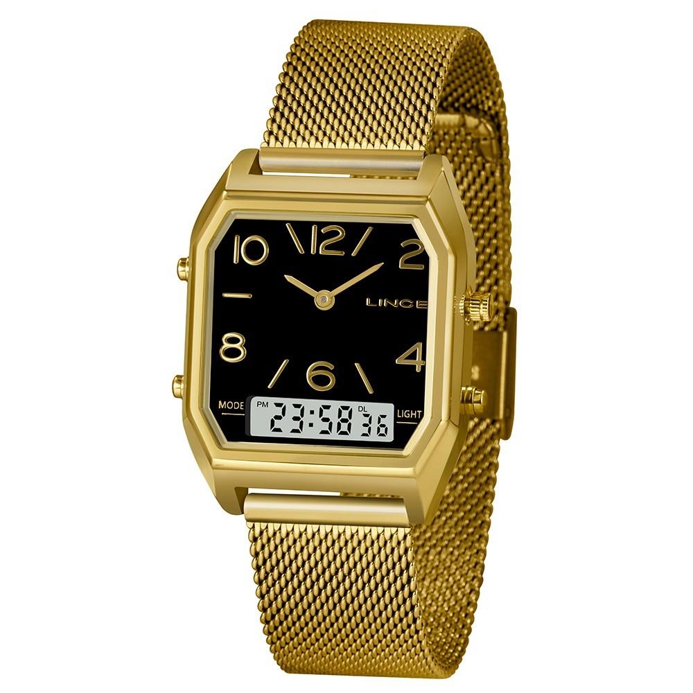 Relógio de Pulso Urban Feminino Lince Anadigi LAGH118L