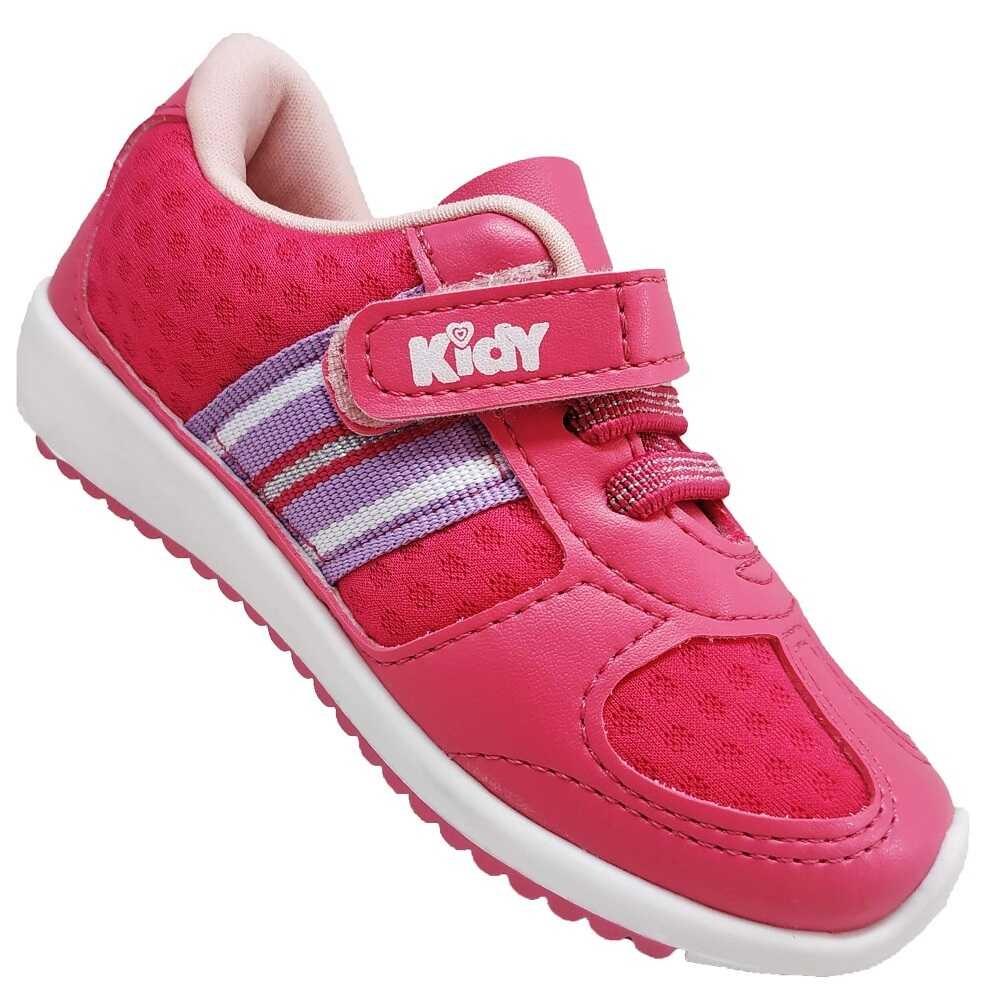 Tênis Infantil Feminino Casual Kidy Colors 009-0847-0312