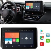 "Central Multimidia Corolla 2020 10.1"" Android 10 com 2 USB Bluetooth Espelhamento Google Play Faaftech"