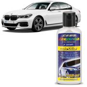 Cera Automotiva Colorida Branca Autoshine Colorshine 140ml