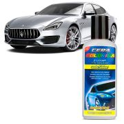 Cera Automotiva Colorida Prata Autoshine Colorshine 140ml