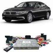 Desbloqueio De Multimidia BMW Serie 5 2017 a 2018 Com DVD de Fabrica FT LVDS BM17