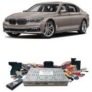 Desbloqueio De Multimidia BMW Serie 7 2017 a 2018 Com DVD de Fabrica FT LVDS BM17