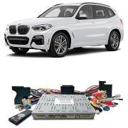Desbloqueio De Multimidia BMW X3 2017 a 2018 Com DVD de Fabrica FT LVDS BM17