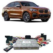 Desbloqueio De Multimidia BMW X4 2017 a 2018 Com DVD de Fabrica FT LVDS BM17