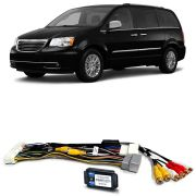 Desbloqueio De Multimídia Chrysler Town & Country 2008 a 2015 FT VF MYGIG HI