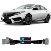 Desbloqueio De Multimidia Honda Civic 2017 a 2018 Com entrada HDMI FT VF HND2