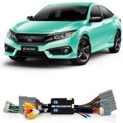 Desbloqueio De Multimidia Honda Civic 2018 Sem Entrada HDMI FT VF HND4