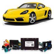 Desbloqueio De Multimídia Porsche 718 2017 a 2018 Com PCM 4.0 FT LVDS AUD4