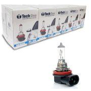 Lampada Halogena TechOne H11 3000k 55W Caixa com 10 Unidades
