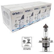 Lampada Halogena TechOne H4 3000k 60/55W Caixa com 10 Unidades