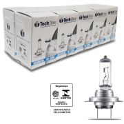 Lampada Halogena TechOne H7 3000k 55W Caixa com 10 Unidades