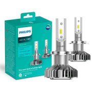 Lampada LED Philips Ultinon H7 6200K 14W 160% a Mais de Visibilidade
