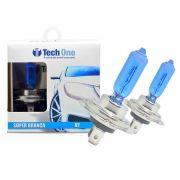 Lampada Super Branca H7 8500k TechOne