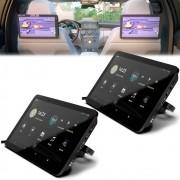 "Par de Tela Encosto Cabeça Acoplavel 10.8"" Full HD Android 10 USB Espelhamento Faaftech FT-RSE"
