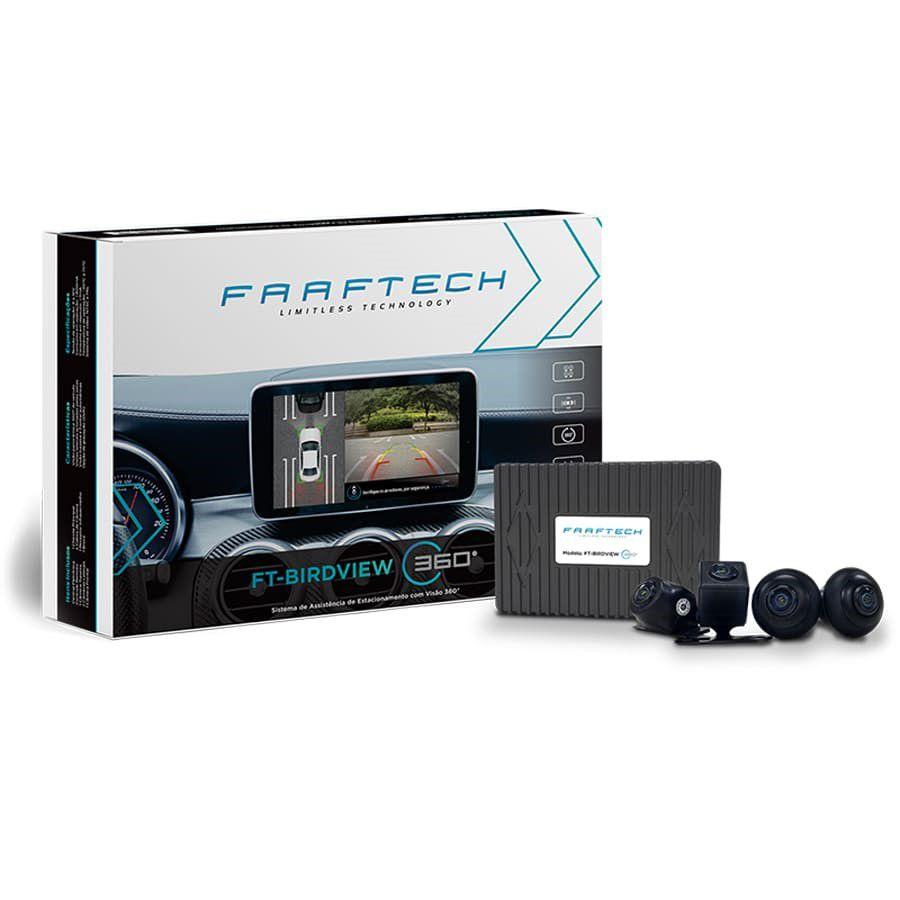 Câmera Automotiva Visão Panorâmica 360° Faaftech FT-BIRDVIEW 360