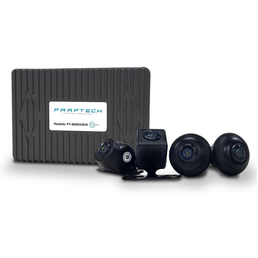 Câmera Automotiva Visão Panorâmica 360° Faaftech FT-BIRDVIEW-360