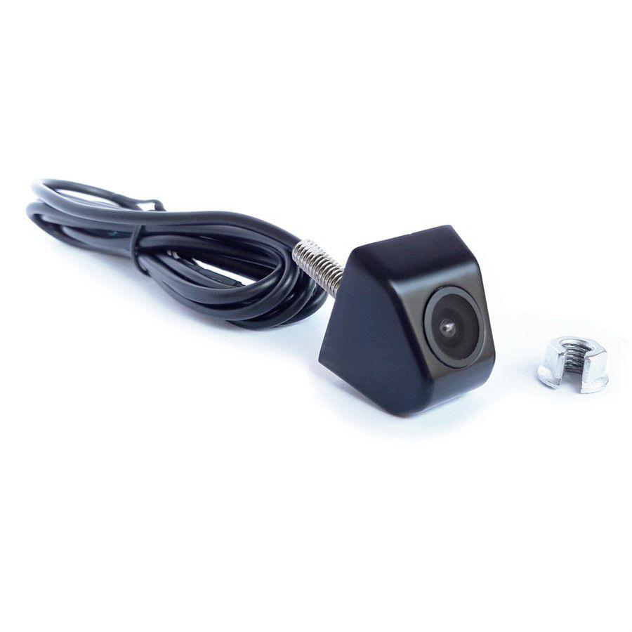 Câmera de Ré e Frontal Universal Micro Colorida com Lente de Vidro e Visão Noturna Faaftech FT-CAMERA