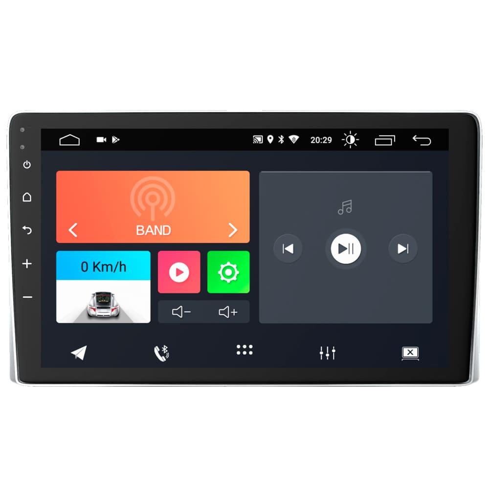 "Central Multimidia Onix 2020 Sem Mylink 3 10.1"" Android 10 com 2 USB Bluetooth Espelhamento Google Play Faaftech"