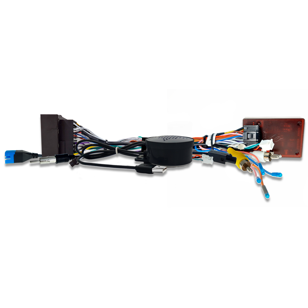 Chicote Plug and Play Linha Fiat e Jeep Para Instalação de Multimidia Android Faaftech