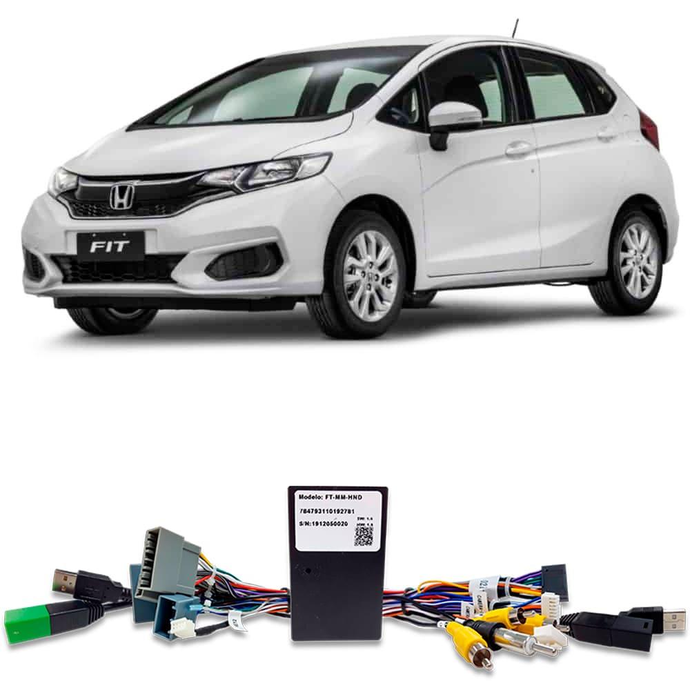 Chicote Plug and Play Linha Honda Para Instalação de Multimidia Faaftech