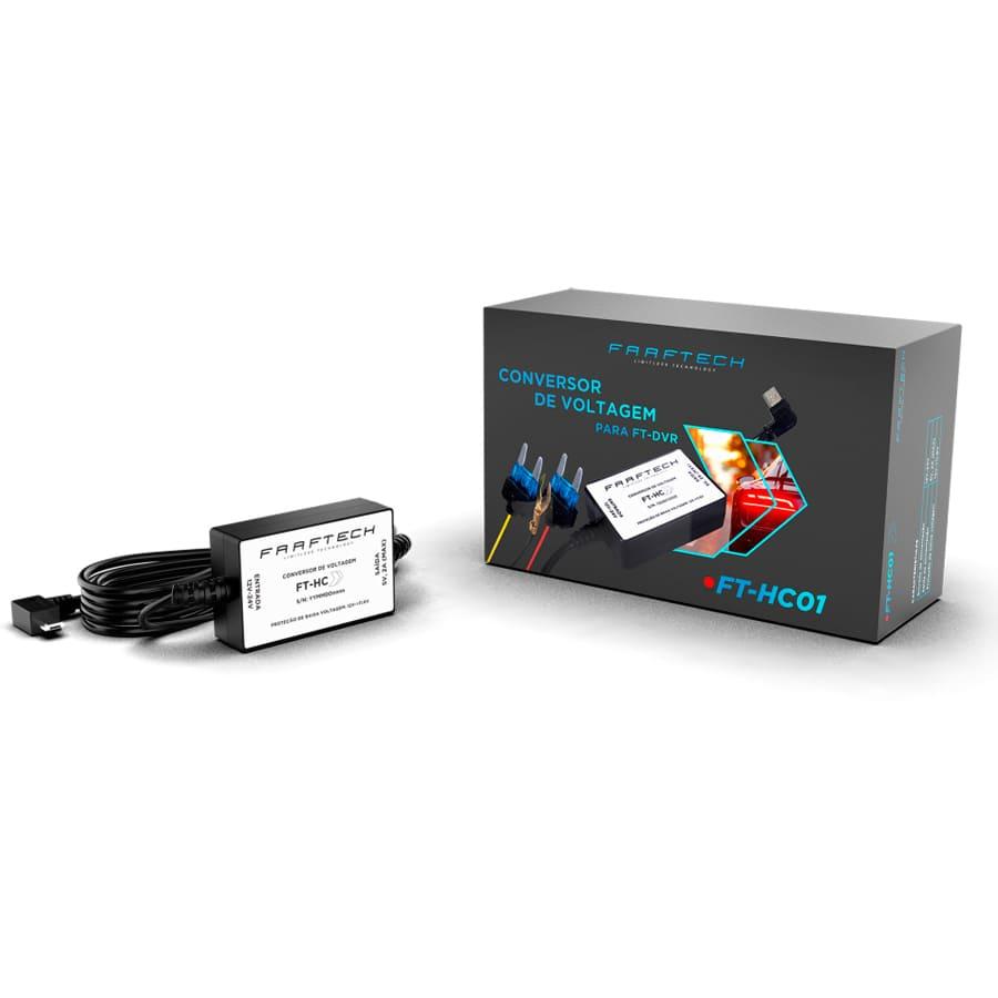 Conversor de Voltagem para DVR Faaftech FT-HC01