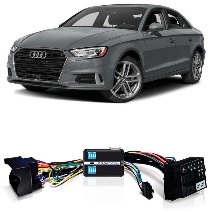 Desbloqueio De Multimídia Audi A3 2014 a 2018 Com DVD de Fabrica FT VF MIB