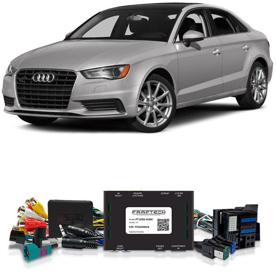 Desbloqueio De Multimídia Audi A3 2014 a 2018 FT LVDS AUD4