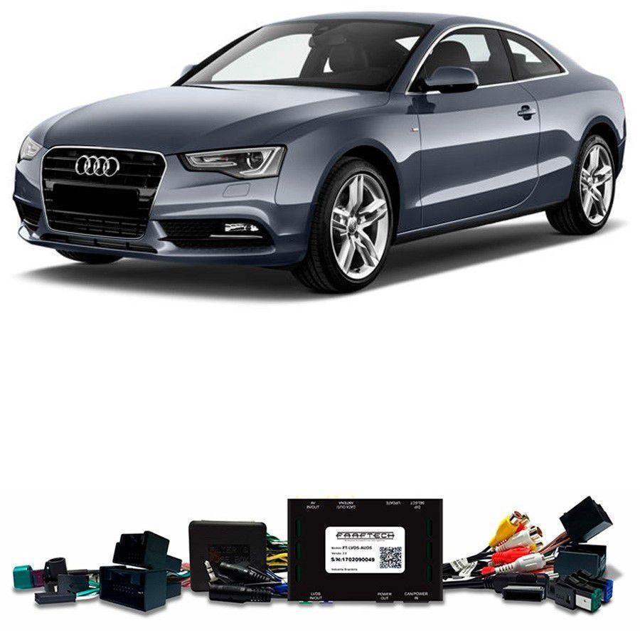 Desbloqueio De Multimidia Audi A5 2012 a 2016 Com DVD de Fabrica FT LVDS AUD5