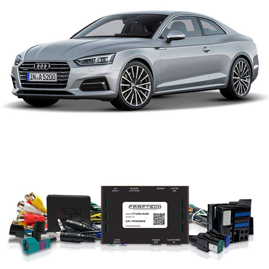 Desbloqueio De Multimídia Audi A5 2017 a 2018 FT LVDS AUD4