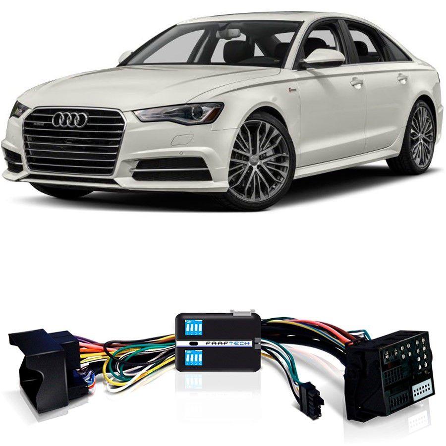 Desbloqueio De Multimídia Audi A6 2015 a 2018 Com DVD de Fabrica FT VF MIB