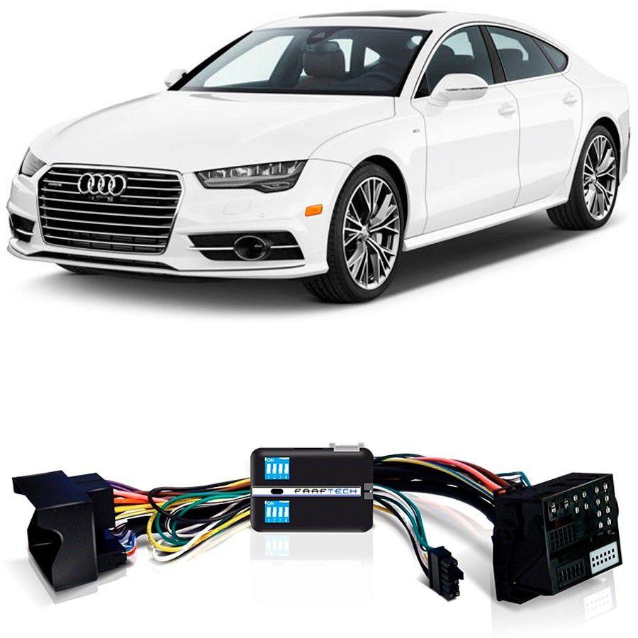 Desbloqueio De Multimídia Audi A7 2015 a 2018 Com DVD de Fabrica FT VF MIB