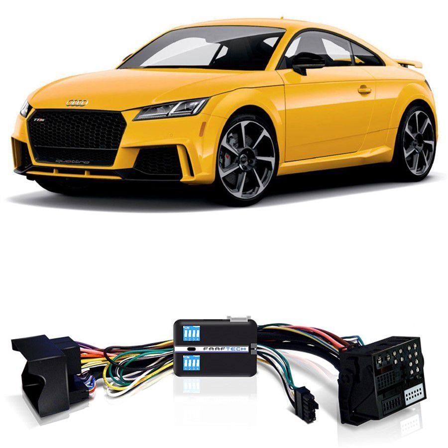Desbloqueio De Multimídia Audi TT 2017 a 2018 Com DVD de Fabrica FT VF MIB