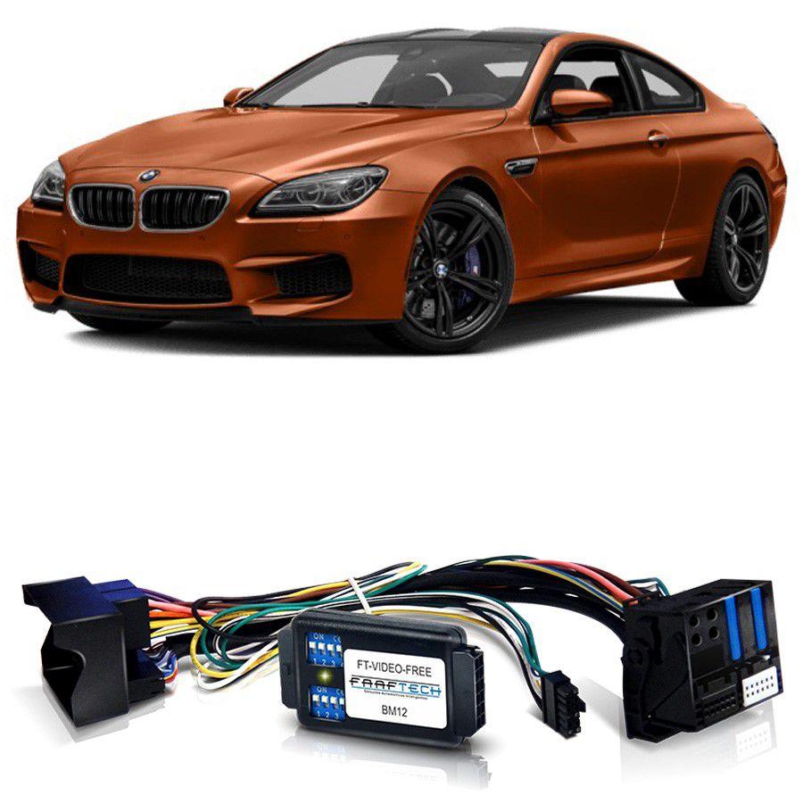 Desbloqueio De Multimidia BMW M6 2015 a 2017 Com DVD de Fabrica FT VF BM12