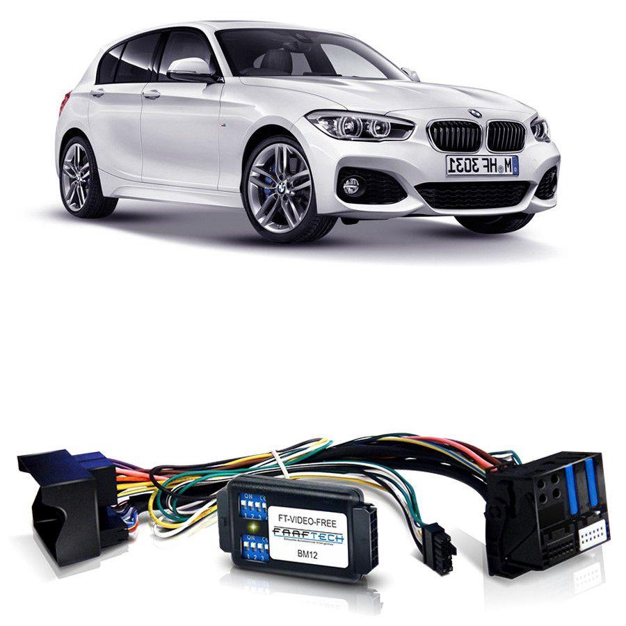 Desbloqueio De Multimidia BMW Série 1 2012 a 2016 Com DVD de Fabrica FT VF BM12