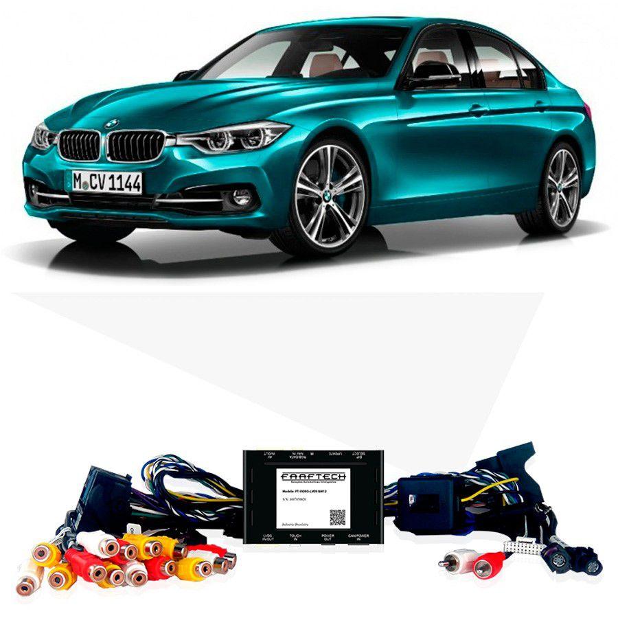 Desbloqueio De Multimidia BMW Série 3 2012 a 2017 FT LVDS BM12