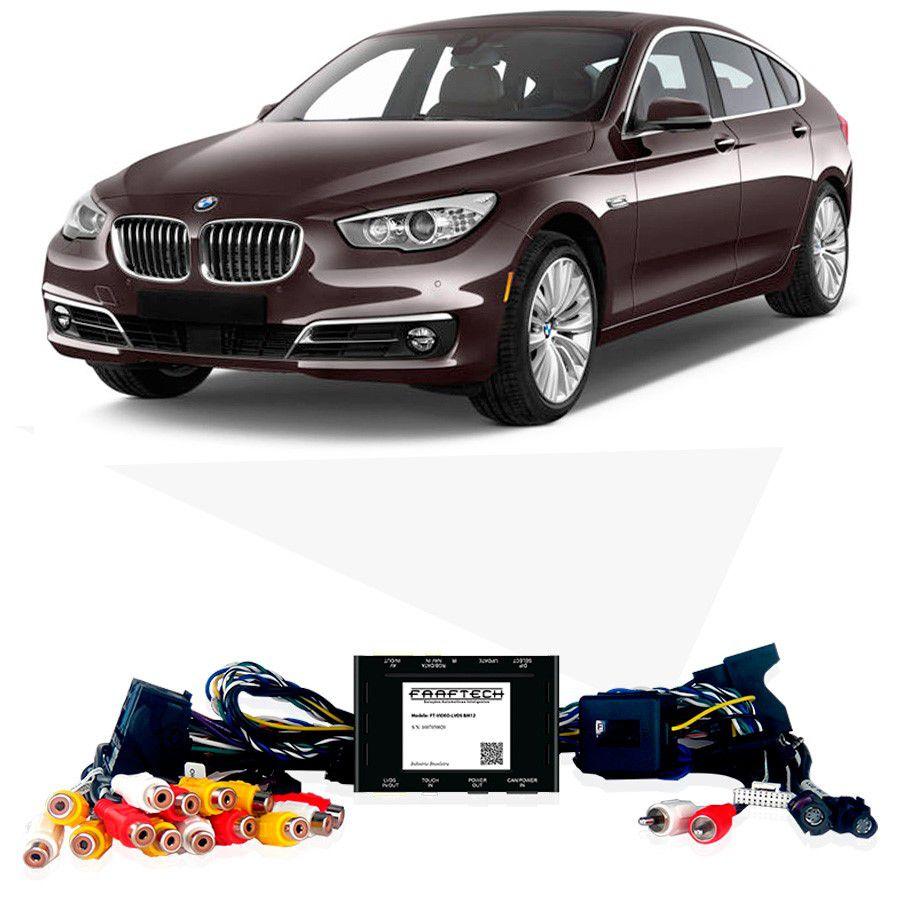 Desbloqueio De Multimidia BMW Série 5 2013 a 2016 Com DVD de Fabrica FT LVDS BM12