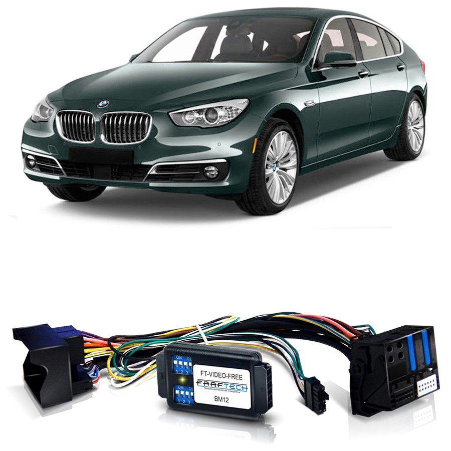 Desbloqueio De Multimidia BMW Série 5 2013 a 2017 Com DVD de Fabrica FT VF BM12