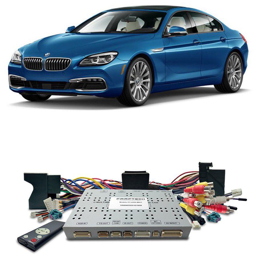 Desbloqueio De Multimidia BMW Serie 6 2017 a 2018 Com DVD de Fabrica FT LVDS BM17