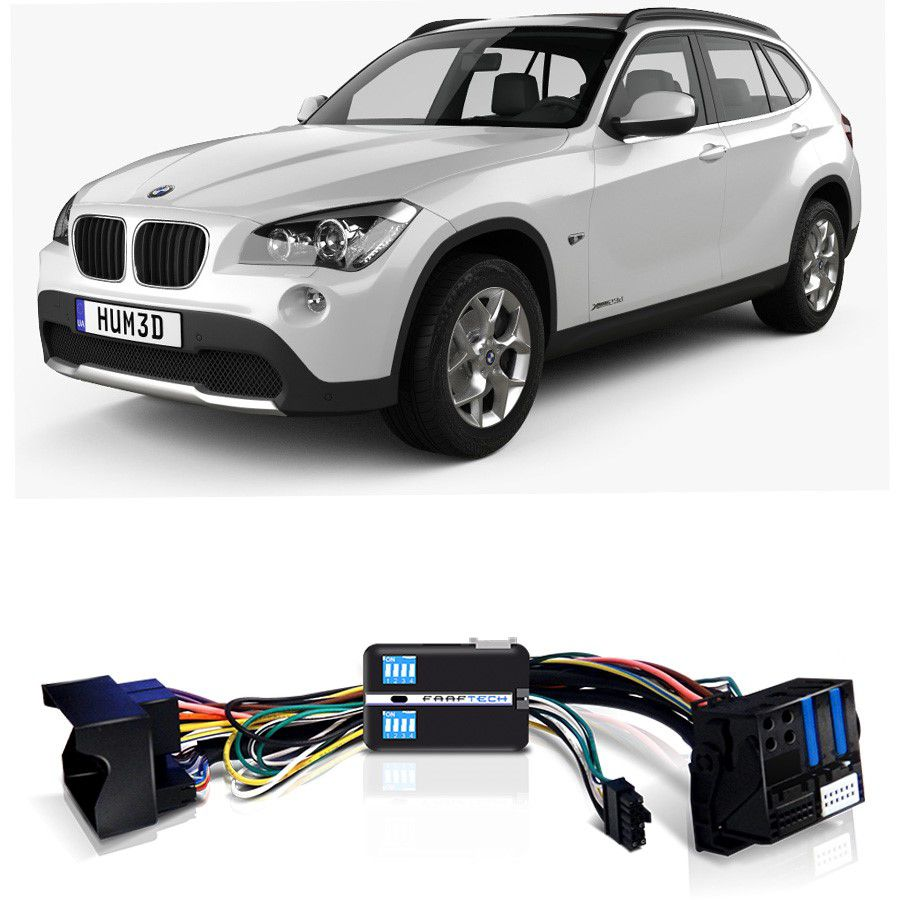 Desbloqueio De Multimidia BMW X1 2010 a 2015 Com DVD de Fabrica FT VF BM10