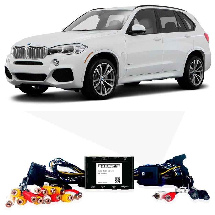 Desbloqueio De Multimidia BMW X5 2014 a 2016 Com DVD de Fabrica FT LVDS BM12