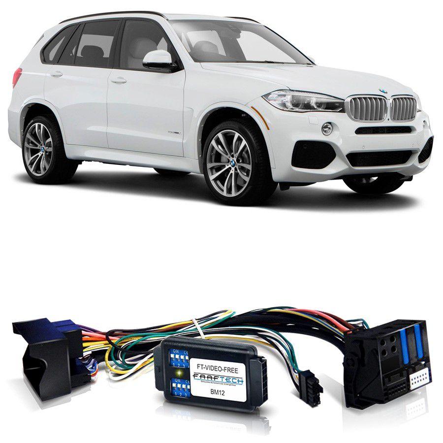 Desbloqueio De Multimidia BMW X5 2014 a 2017 Com DVD de Fabrica FT VF BM12