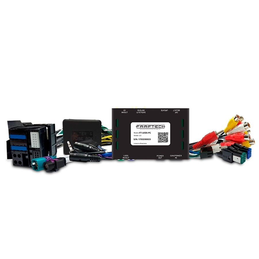 Desbloqueio De Multimidia Citroen Peugeot Faaftech FT-LVDS-PC
