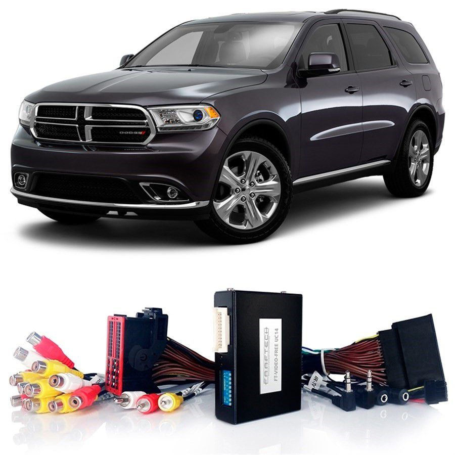 Desbloqueio De Multimídia Dodge Durango 2014 a 2018 FT VF UC14