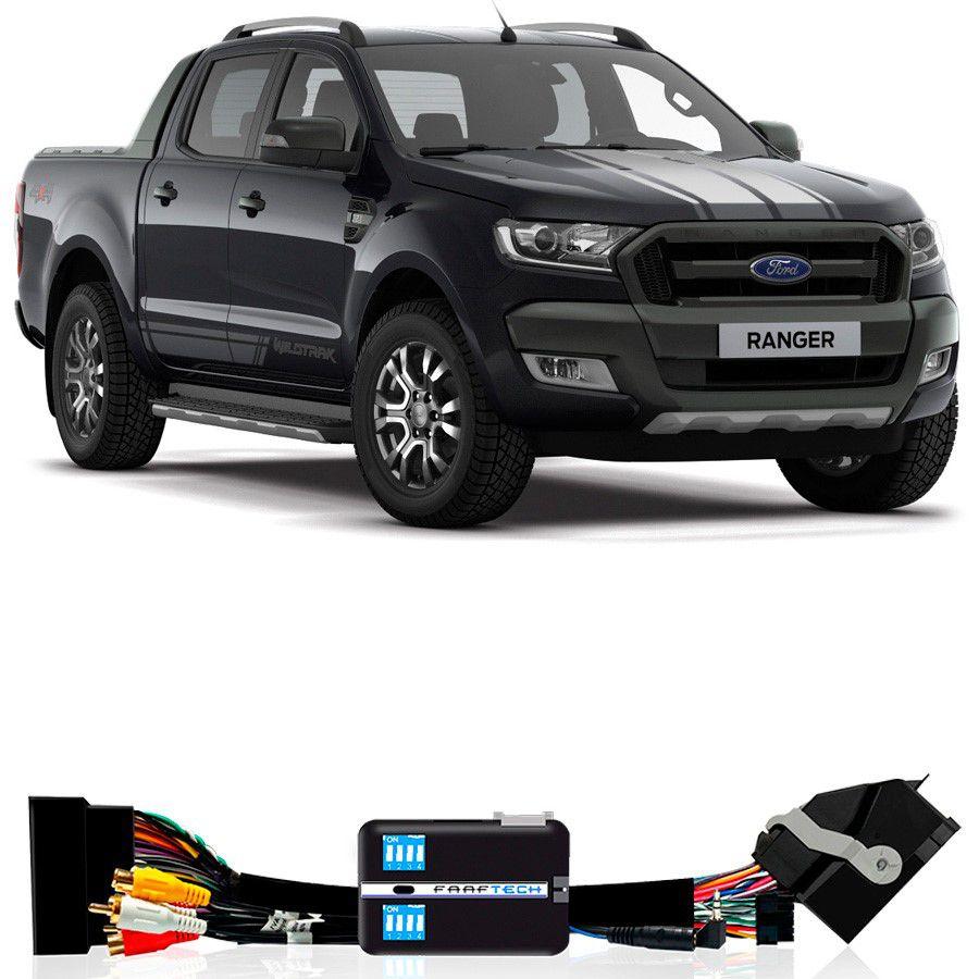 """Desbloqueio De Multimídia Ford Ranger 2016 a 2019 Com tela de 8"""" FT VF FRD4"""