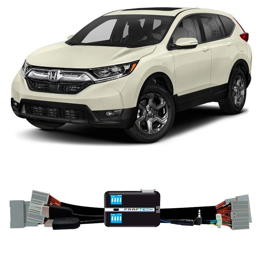 Desbloqueio De Multimidia Honda CRV 2018 Com entrada HDMI FT VF HND2
