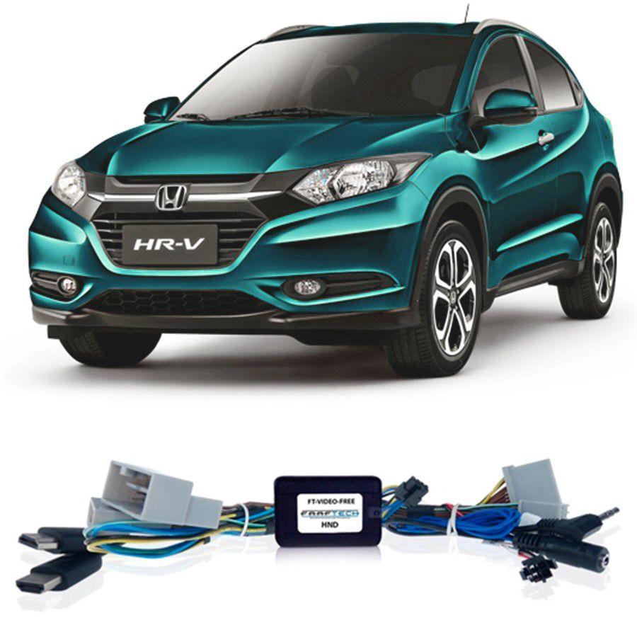 Desbloqueio De Multimidia Honda HRV 2015 a 2018 Com entrada HDMI FT VF HND