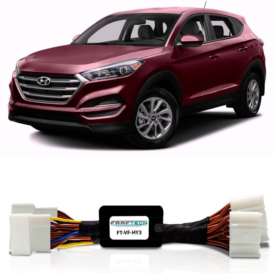 Desbloqueio De Multimídia Hyundai IX35 2017 a 2019 FT VF HY3