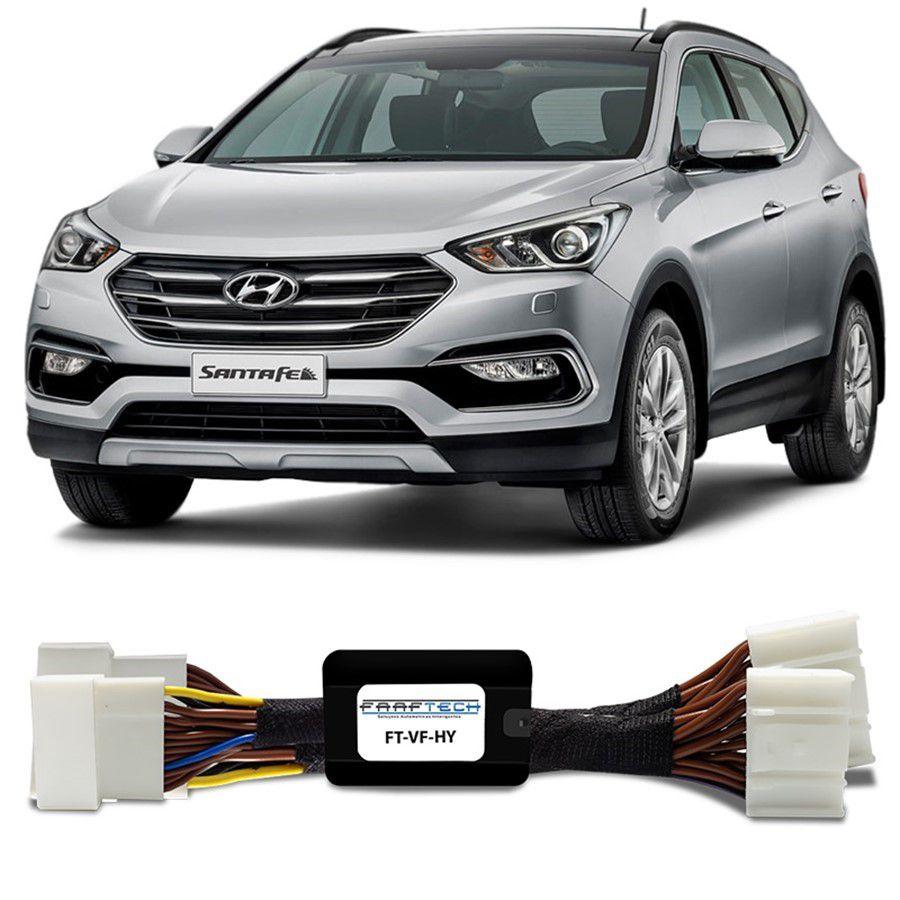 Desbloqueio De Multimidia Hyundai Santa Fé 2018 a 2019 FT VF HND