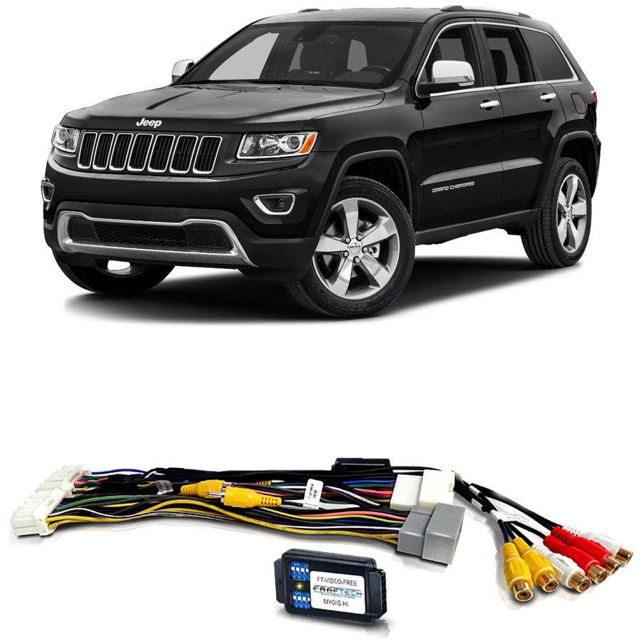 Desbloqueio De Multimídia Jeep Grand Cherokee 2011 a 2013 FT VF MYGIG HI